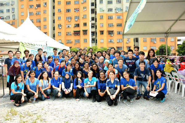 EMPOWERED's dedicated IMU volunteers for our Awareness Day 2015
