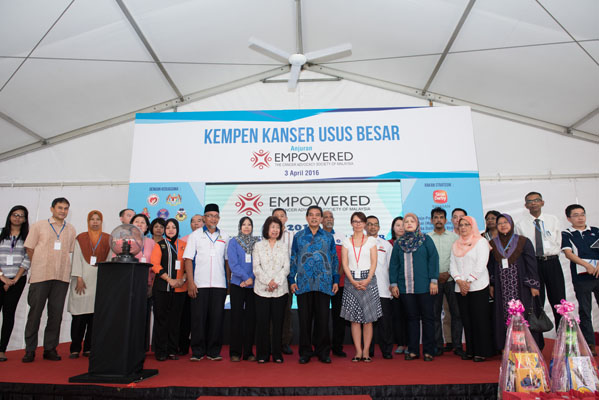The Cancer Advocacy Society of Malaysia launches its 6th annual Colorectal Cancer Awareness, Screening and Treatment Project